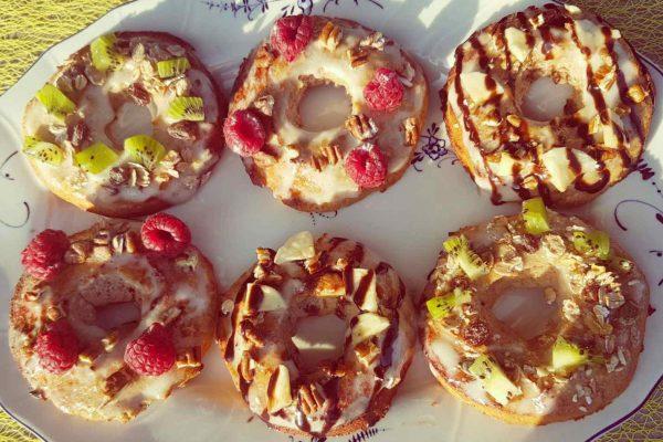 eiwitrijke donuts maken