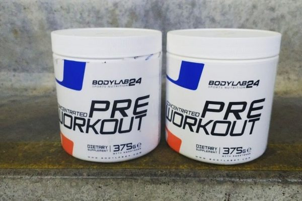 pre workout concentrated bodylab
